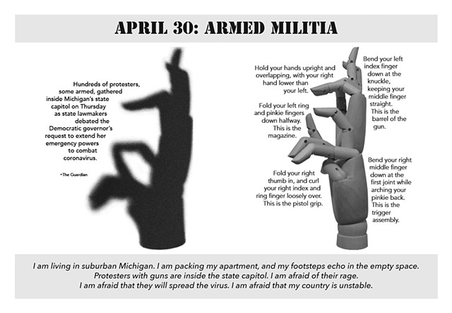 Armed Militia (American Shadows, page 3)
