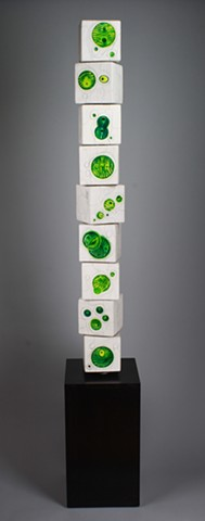 Living Green 9 Block Totem