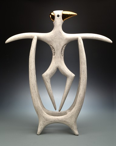 Abstract ceremonial sculpture