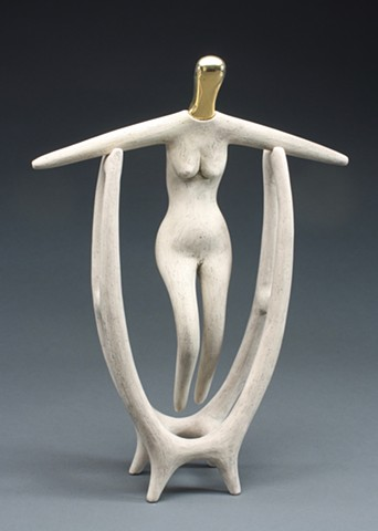Abstract figurative sculpture