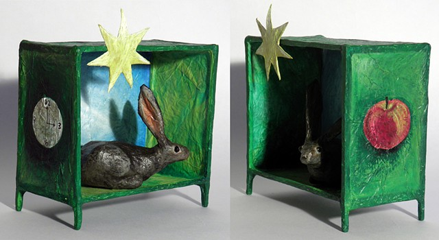 Reliquary for a Rabbit at Mary's City of David, side views