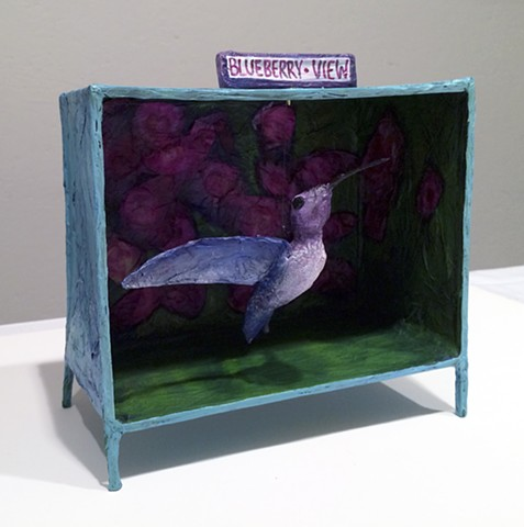 Reliquary for a Hummingbird Encounter