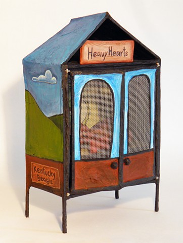 Reliquary for Heavy Hearts, closed