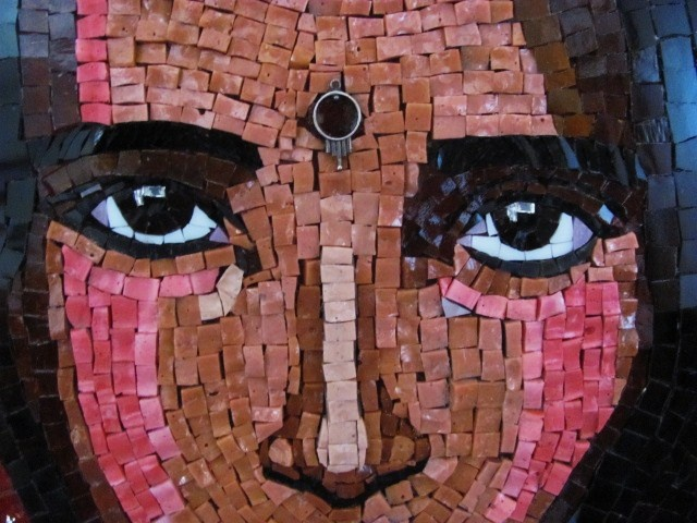 Indian Girl Mosaic