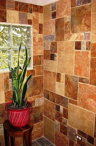 Tile Mosaic Entryway