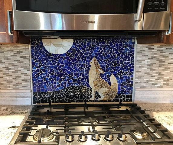 Coyote Kitchen Backsplash Mosaic
