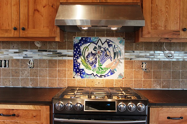 Daitura Mosaic Backsplash