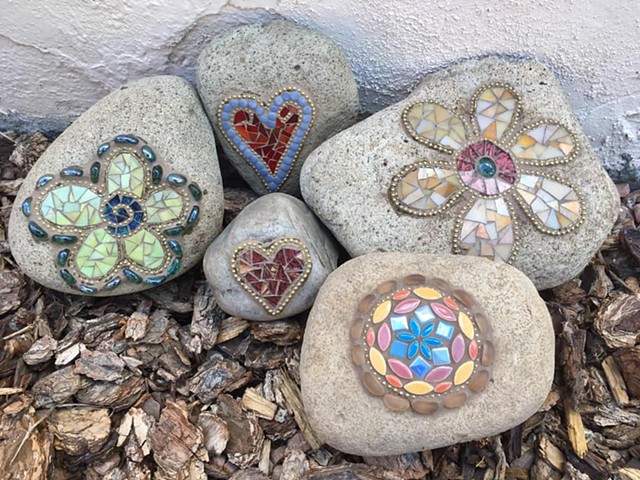 Mosaic Rocks Workshop