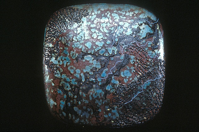 vitreous enamels fired on copper