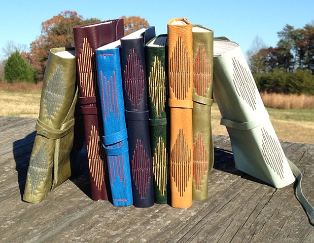 Soft Cover Longstitch Bindings 2