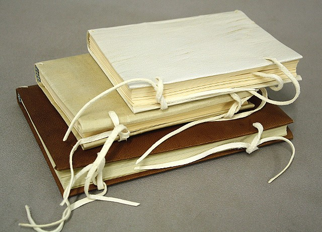 Various parchment bindings