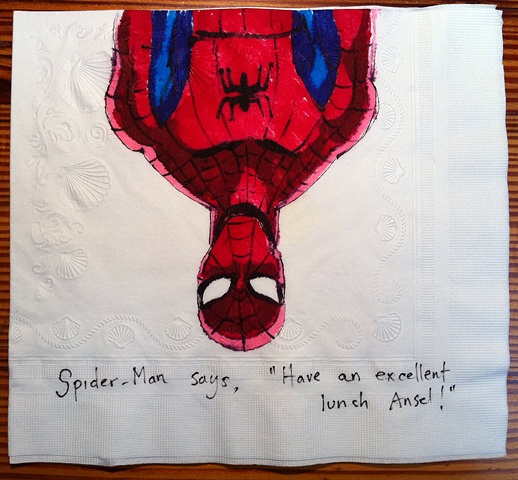 Spider-Man Upside Down
