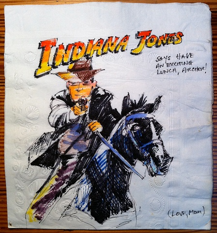 Indiana Jones on Horseback
