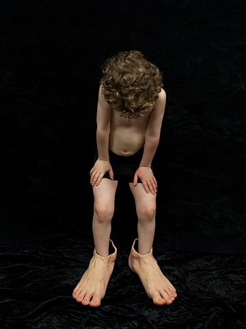 Boy With Feet