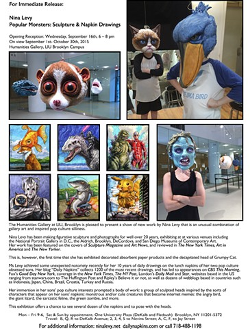 Popular Monsters Exhibition: Press Release