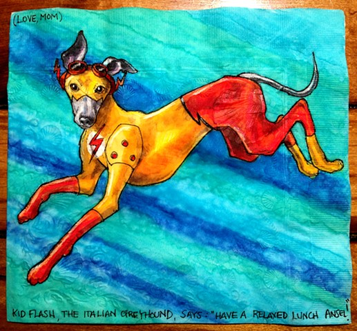 Kid Flash Italian Greyhound