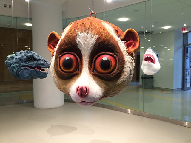 Popular Monsters Installation at LIU, Brooklyn: Slow Loris