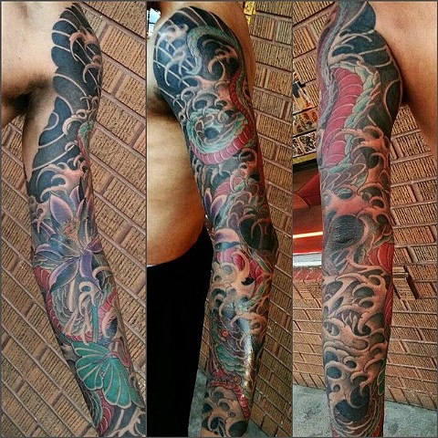 rob junod tattoo american tradition sacramento japanese