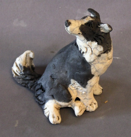 Seated Dog