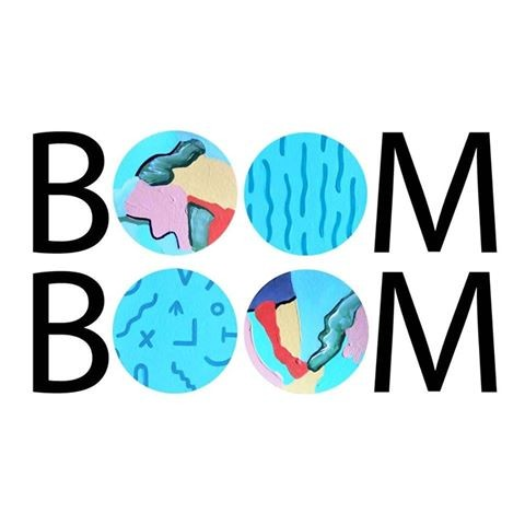 BOOMBOOM shop painted letters