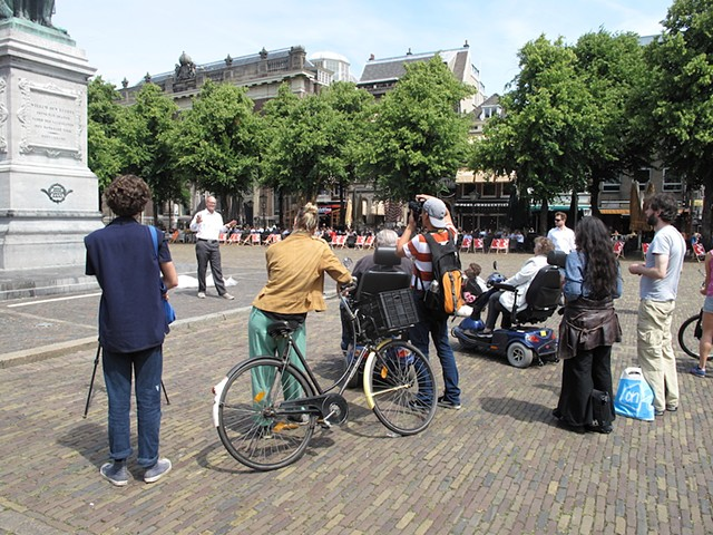 It's not about a bike, Michael Barrett, P.S. This is Live, Den Haag, Performance Art, Quartair