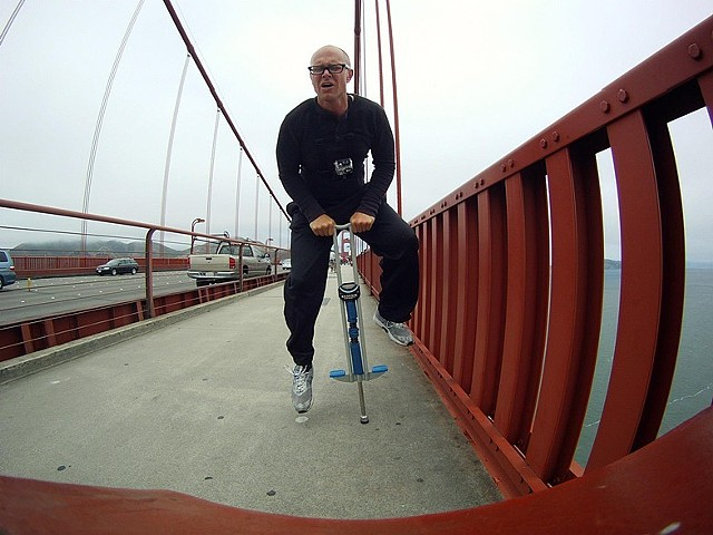Jumping The Golden Gate