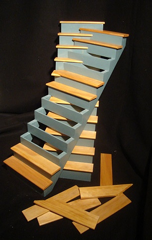 Green Coped Staircase
