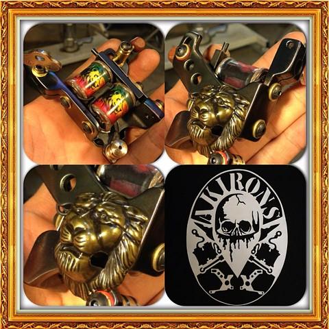 Rasta Lion Liner (SOLD)