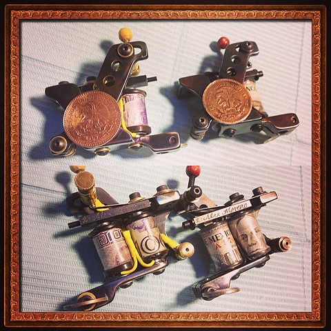 Mexican Theme machines (SOLD)