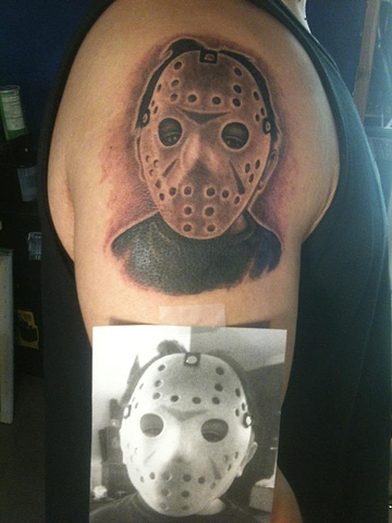 jason mask portrait