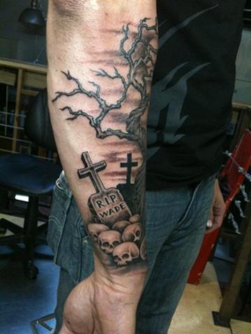 Skulls tree- 3