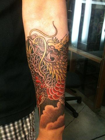 Dragon forearm- 3