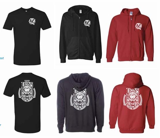 New ak tees and hoodies