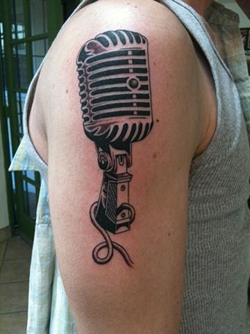 Old school mic