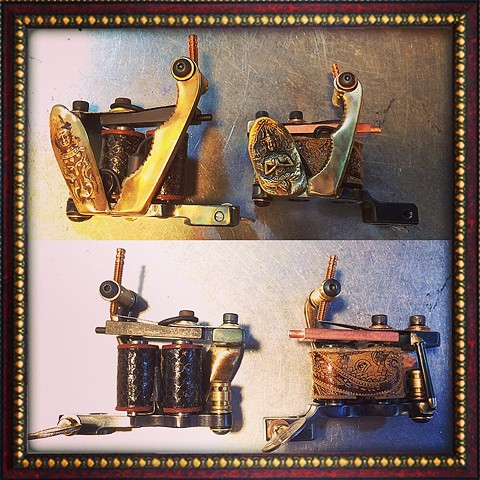 antique thai God utencils side liner shader $600