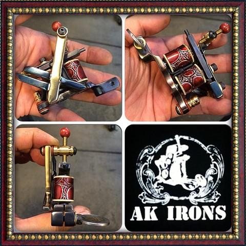 X brass metal shortie liner (SOLD)