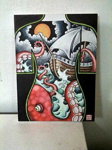 Octopus/Ship