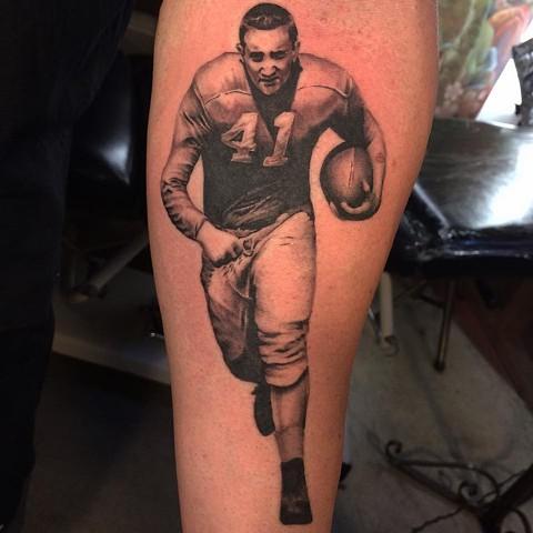 Photo Realism football player