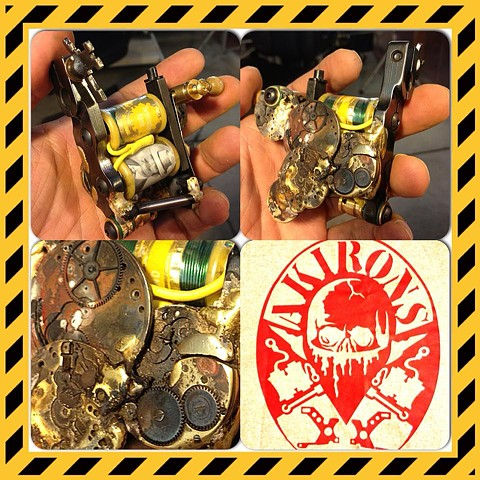 Clock/gear liner $350 (SOLD)