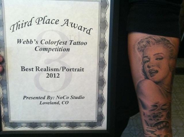 Marilyn Portrait Winner
