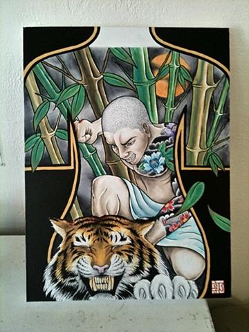 Samurai/Tiger