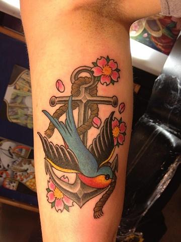 Swallow/anchor