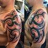Tribal Half sleeve (freehand)