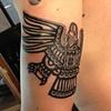 Aztec Eagle Tattoo2