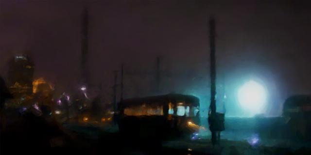 Streetcar Silhouette V