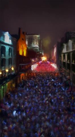 Bourbon St Carnival