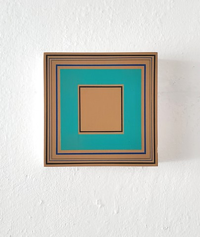 square, hardedge, geometric art, contemporary art, yong sin, yong sin artist