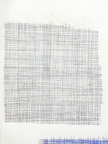 grid, conceptual drawing, contemporary art
