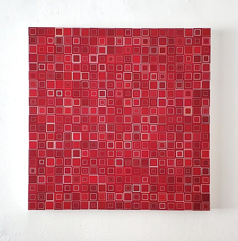 square, geometric, yong sin, yong sin artist, contemporary artist