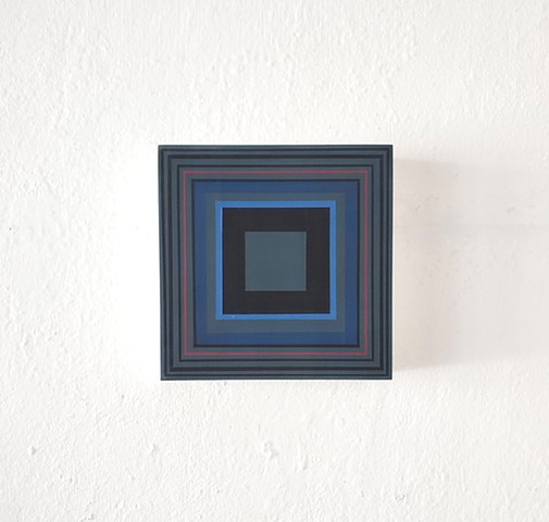square, hardedge, geometric, contemporary art, yong sin, yong sin artist
